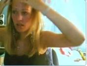Blonde Flashing