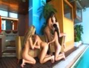 Lady Mai's Lesbian Orgy In Woman Secrets - Scene 6!