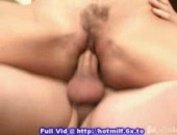 Blond milf does 2 dudes