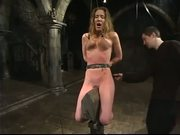 Sub Cannot Escape Getting BDSM Punishment