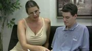 big titted mature pleasures younger guy