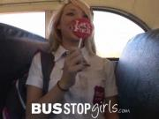 Young Chick Gigi Rivera Sucks Dick Fucks Shaft In The Bus