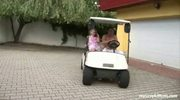 Adorable Girl Being Fucked At Golf Court