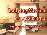 Ladyboy Pat Fucked Bareback