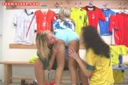 Hot Lesbian Threesome