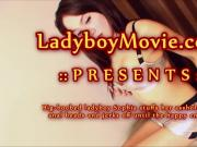 Phuket Ladyboy Sophia with anal beads
