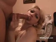 wife does deepthroat