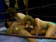Buffy Davis and Tami White sex in the ring