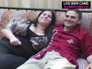 BBW Brunette Chick Is A Blowjob Specialist