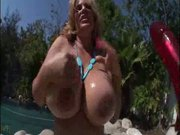 she has giant boobs