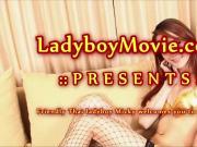 Ladyboy Micky Showing Off Herself