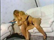 2 blonde lesbians - classic vintage