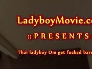 Gorgeous Ladyboy Om Fucked Bareback