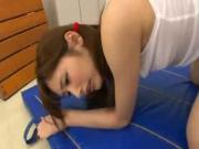 Lovely Tokyo Young Girl Pounded At The Gym