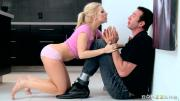 Sexy Blonde Ashley Fires Gets Her Asshole Banged By Stiff Pole