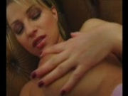 Hot blonde gets creampied