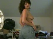 amateur milf strips and dances