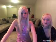 2 Hotties Tease Naked On Cam