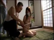 Tied-Up Japanese Invaded By 2 Dirty Perverts