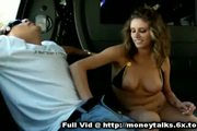 Sucking For Cash In Car