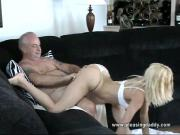 Sexy Goldie Nailed By Mature Guy
