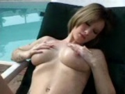 lesbians squirting at pool party