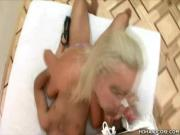 Blonde Fucking a Big Dick In HD