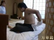 Asian massage with cock sucking