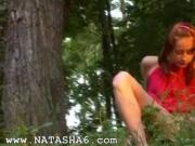 Natasha forest princess from Russia