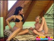 Adorable Lesbos Play With Each Other