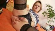 Lusty Milf Wearing Stockings Toys Pussy