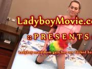 Ladyboy Maid Bom Fucked Bareback