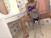 Kinky Ladyboy Visa Gives a Handjob and Barebacked