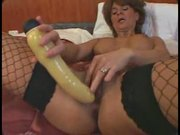 hot milf playing