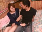 Sexy Asian Gal Rika Hayama Is Insanely Banged By This Stiff Cock