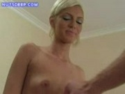 Bleach Blonde Strip And BJ