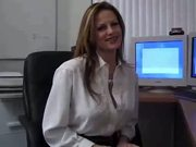 big boobs mature office woman