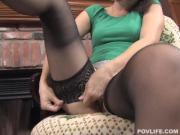 Heavenly Girl In Nylons Flaunts Sexy Body And Blowjob Skills