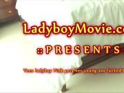 Teen Ladyboy Pink Fucked Bareback