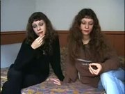 Russian Twins In Group Sex!