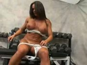 Fit MILF Kristina Madison -Threesome In The Gym