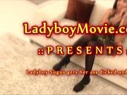 Ladyboy Sugus Shows Her Gun