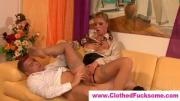Dirty Blonde Girl Enjoys Dick