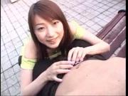 Asian Tsutsumi Sayaka Giving Blowjob