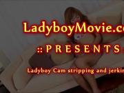 Ladyboy Cam Masturbating
