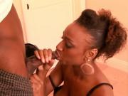 Slut Ebony GF Pleasures Humps Manhood