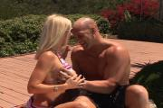 Califorina Gal Bangs Pool Man\'s Cock
