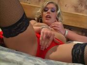 Fearless Blonde Girl Sucks & Nails Shaft