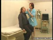 Sexy Nurse Boob Tease