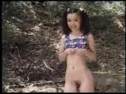 Japanese Gal Has Pussy Pumped Outdoors